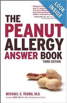10 best food allergy parenting books images on pinterest parents the peanut allergy answer book 3rd ed was written by michael c forumfinder Image collections