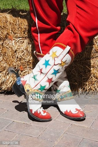 Stock Photo : Cowboy Boots, Calgary Stampede, Calgary, Alberta, Canada
