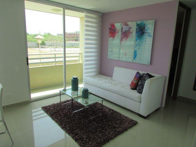 Hermoso Apartamento para arriendo en Villa Campestre Barranquilla, para estrenar, 2 alcobas, estudio, cocina tipo Pantry, sala comedor, zona de oficios y 2 baños