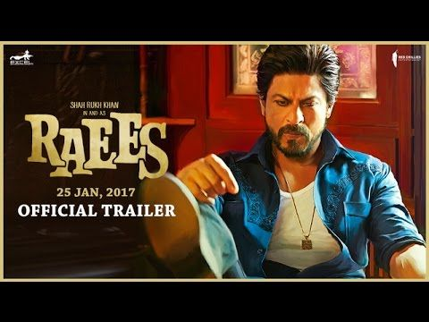 Viral and wonderful. The nation gone gaga over it. Finally, Raees The Film Trailer is here!  Shah Rukh Khan Red Chillies Entertainment Excel Entertainment