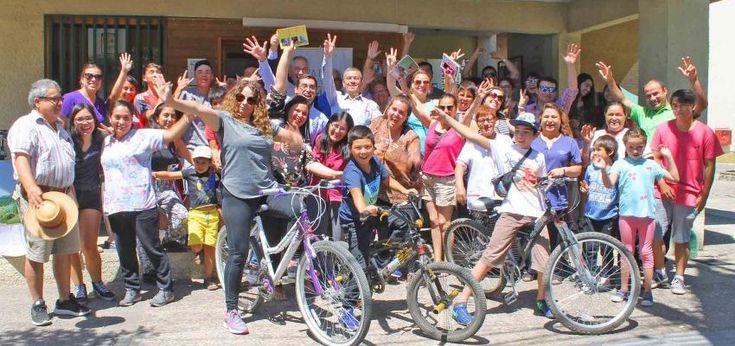 Bicicletas gratuitas para veraneantes en Ñipas