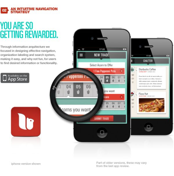 Squiryl Social Loyalty on your mobile phone by DHNN Creative Agency