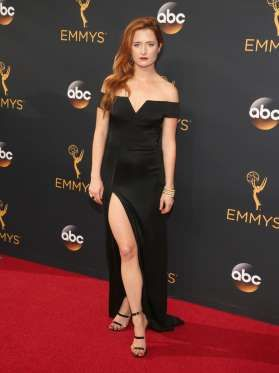 Mamie Gummer attends the 68th Annual Primetime Emmy Awards at Microsoft Theater…