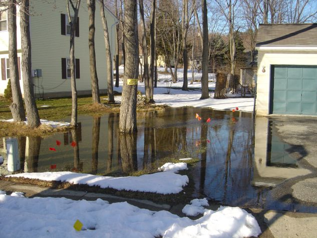 10 best images about operation dry yard basement on for Backyard flooding solutions