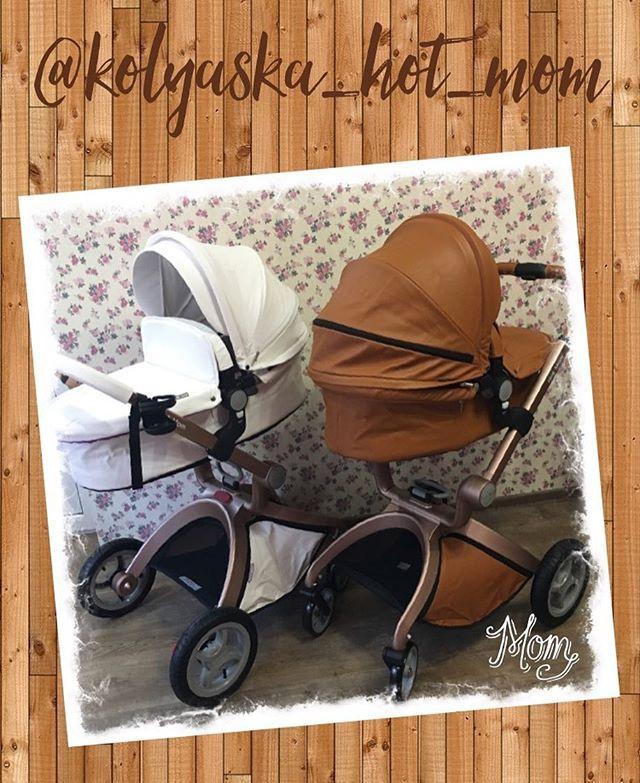 """🎀Hot Mom - это функциональная прогулочная коляска с сиденьем типа """"гамак"""". Сиденье очень высоко расположено от земли, что дает модели неоспоримые преимущества перед большинством обычных прогулочных колясок:➕ребенок на прогулке сидит высоко и имеет панорамный обзор➕зимой малыш находится высоко от снега и промерзшей земли➕в теплое время года ребенка не будет одолевать пыль и грязь☝🏼️ Прогулочная коляска Hot Mom подходит для детей с 6 месяцев. Люлька от рождения и до 6ти месяцев. Люлька…"""