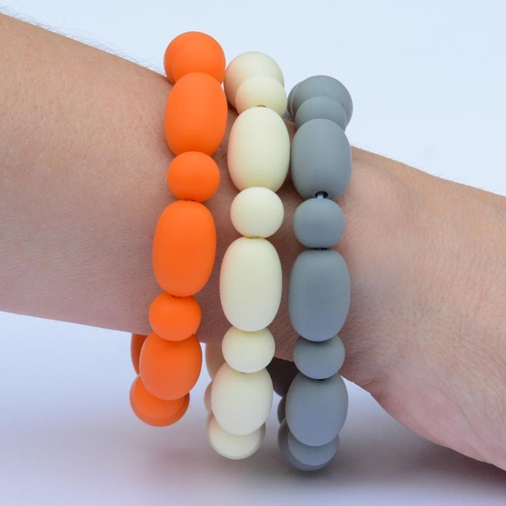 BubbaGummy's Autumn trio bracelets. Get all three for one great price.