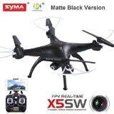Cheerwing® Syma X5SW FPV Explorers2 2.4Ghz 4CH 6-Axis Gyro RC Headless Quadcopter Drone UFO with 2MP HD Wifi Camera (Matte Black) - http://dronesheaven.ianjweboffers.com/cheerwing-syma-x5sw-fpv-explorers2-2-4ghz-4ch-6-axis-gyro-rc-headless-quadcopter-drone-ufo-with-2mp-hd-wifi-camera-matte-black/