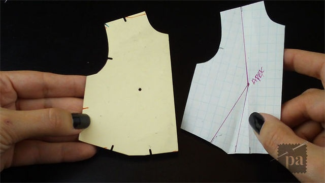 E19 - Dart Manipulation by Pandemica Apparel. This tutorial will show you how to move a dart along the bodice with a slash and spread method & pivoting method. I will also show you how to remove the back shoulder dart.