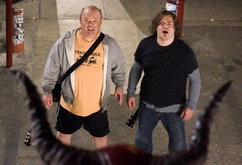 Still of Jack Black and Kyle Gass in Tenacious D in The Pick of Destiny (2006)
