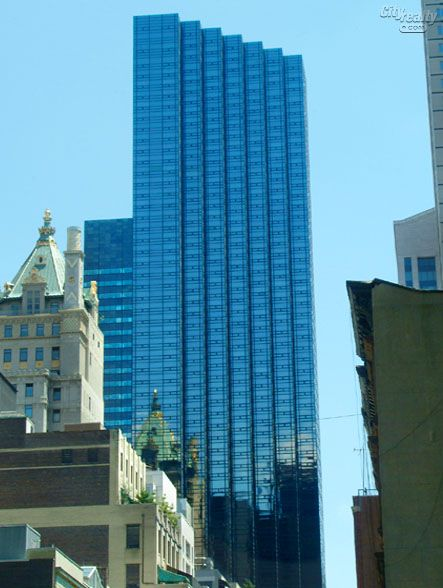 Information and detailed review of Trump Tower, 721 Fifth Avenue - description, amenities, history and apartment reviews.