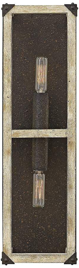 "Fredrick Ramond Emilie 20"" High Iron Rust Wall Sconce - #8G017   Lamps Plus"