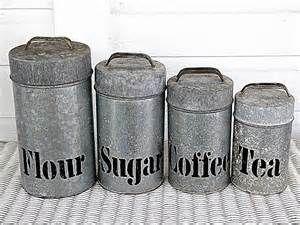 178 best vintage canister sets singles images on pinterest