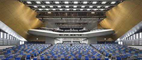 EPFL Quartier Nord SwissTech Конференц-центр и жилье для студентов, Ecublens, 2014 - Рихтер Даля Rocha & Associés architectes SA