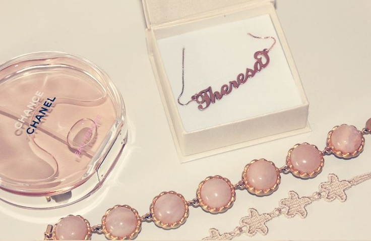 Carrie Namenskette aus 750er Roségold überzogenem SilberCarrie Namenskette aus 750er Roségold überzogenem Silber €44.90