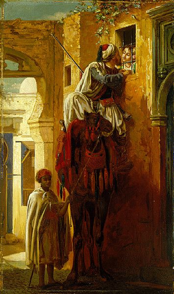Jean-Leon Gerome - The Tryst, c.1844