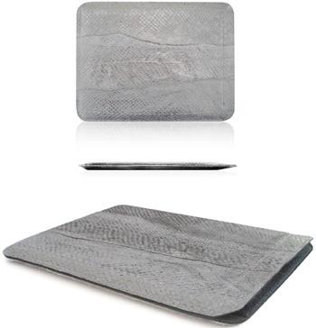 Red Maloo iPad Sleeve Salmon Leather