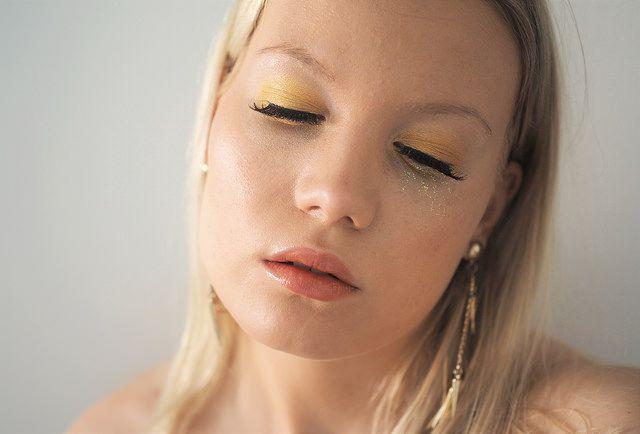 Yellow Eye Shadow