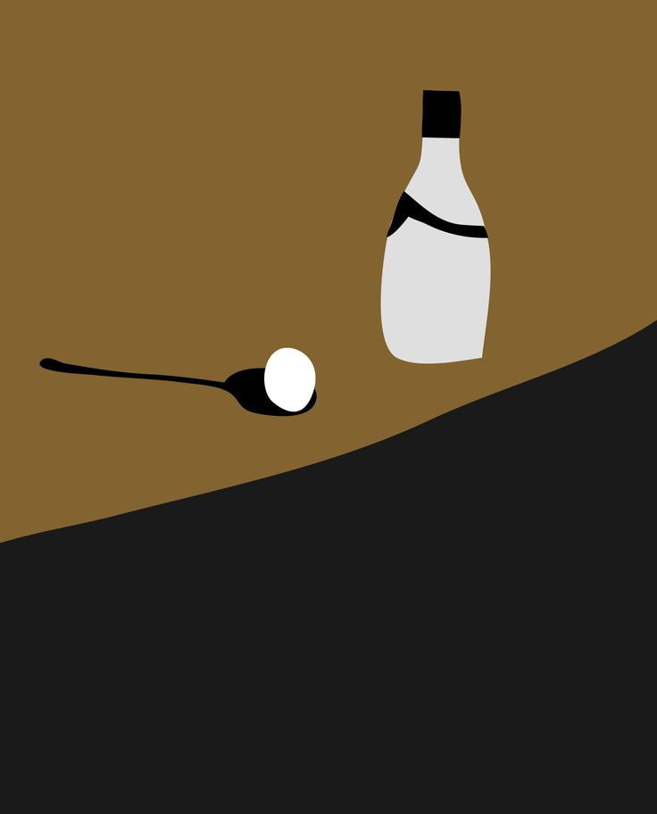 Wine and Egg. Peter Bainbridge. Silk screened on handmade french cotton paper. Limted edition.