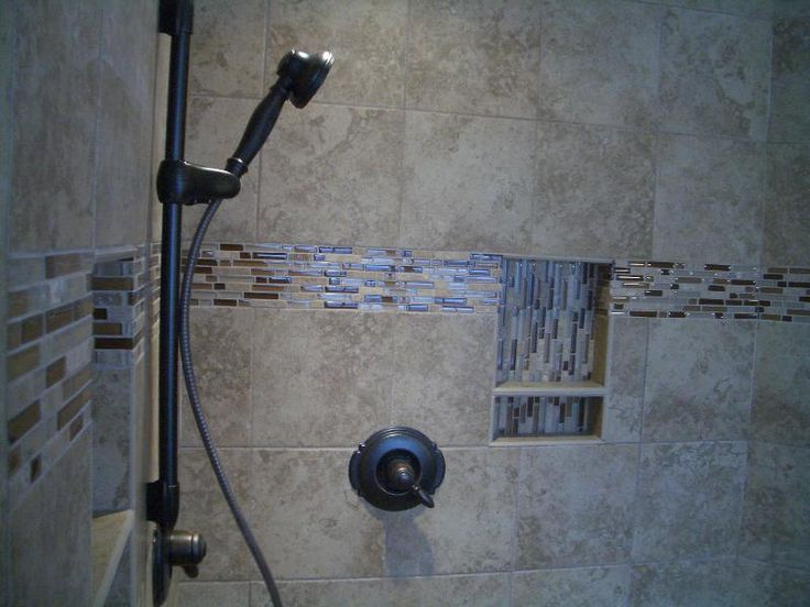 Awesome Shower Tile Ideas In Modern Bathroom Designs Magnificent Glass Block Shower Designs With Awesome Stainless Head Shower And Chrome Faucet Or Mixer