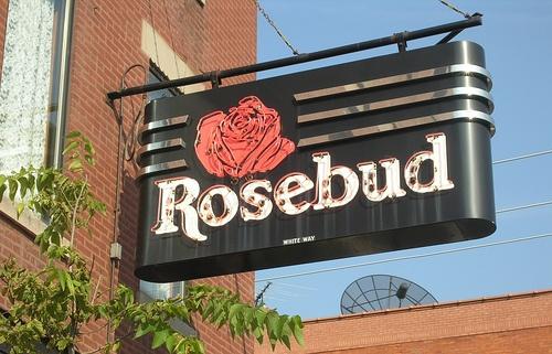 Chicago's iconic Rosebud Restaurant, 1500 W Taylor St by YoChicago1, via Flickr