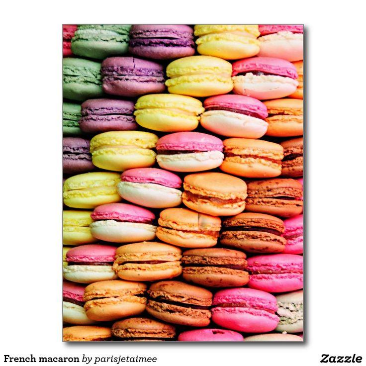 #macaron #frenchmacaron  French macaron postcard
