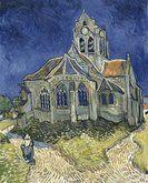 Van Gogh Léglise dAuvers-sur-Oise, vue du chevet
