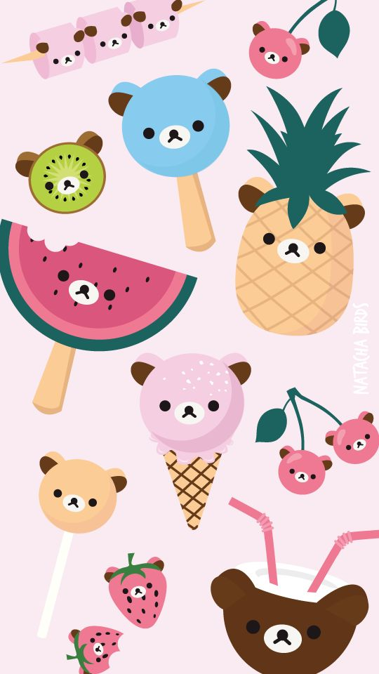 Rilakkuma ★ Find more super cute Kawaii #iPhone + #Android #Wallpapers and…