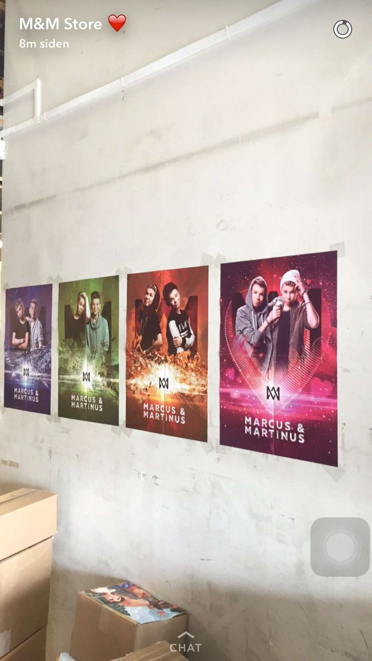 I want to get all of those posters 😍😝