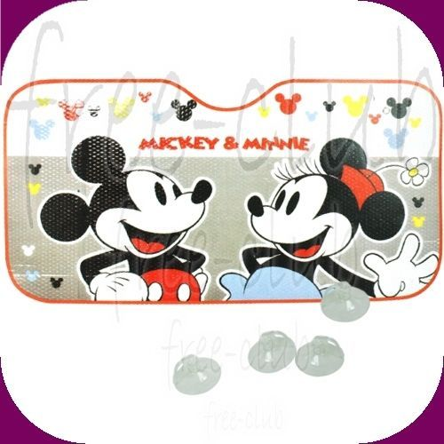 Disney Mickey Minnie Mouse Foldable Car Windshield Window Sun Shade ... bf6a1a45c2e