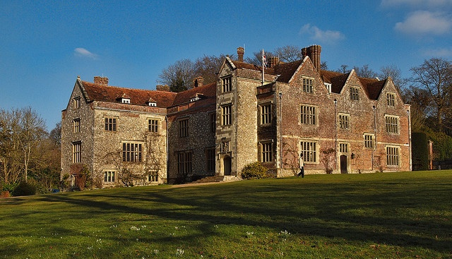 Chawton House, Surrey.  Elizabethan manor house which has been in the Knight family for over 400 years and once belonged to Jane Austen's brother, Edward, who was adopted by childless Knight cousins.