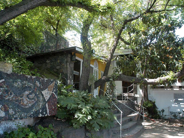 La Chascona in Santiago, Chile: The house Pablo Neruda built for Matilde Urrutia.