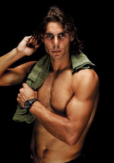 Rafa Nadal. Forget basketball - I like Tennis.