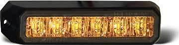 Amber w/ 6 high powered LEDs 19 Flash patterns 12-24 VDC Surface Mount Specs Drawing Additional Info/Notes Accessories/ Parts Alt/Related Products Instructions