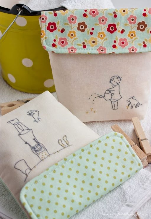 Possibly the sweetest pouches I've ever seen!