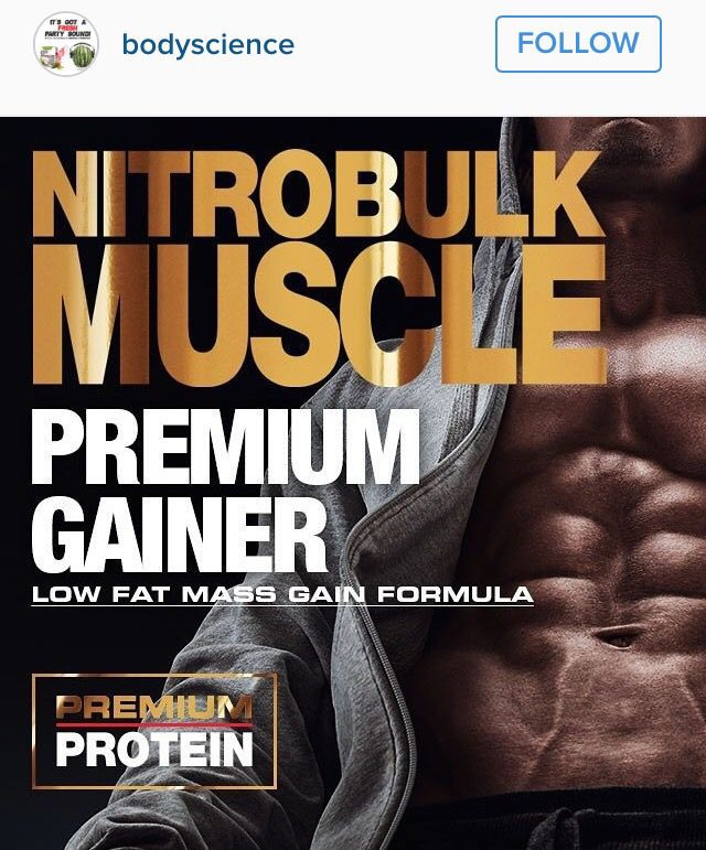 Protein is an essential nutrient NitroBulk muscle post workout recovery and mass gain formula. NitroBULK is the perfect supplement for individuals looking to gain weight and muscle mass. It provides a synergist blend of fast proteins to stimulate protein synthesis, slow proteins to maintain a anti-catabolic environment post exercise, carbohydrates to enhance recovery, plus BCAA's, Glutamine and Creatine to enhance muscle building, strength and mass gains.