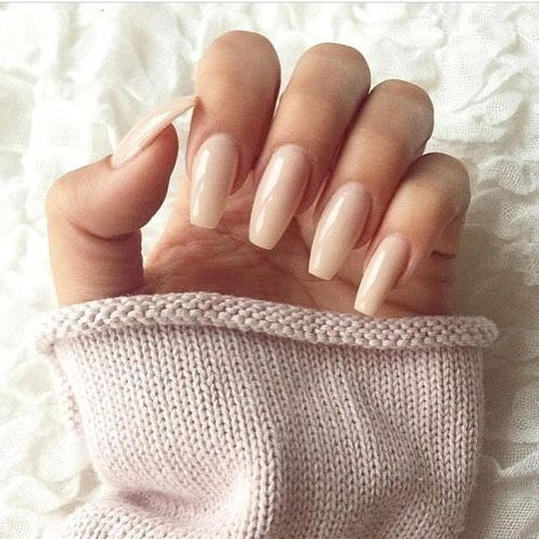 """Nude #Manis never go out of style. Achieve a similar look with RCM's """"Fake Bake"""" LED Gel Polish #RCMNailIt #Pinterest"""