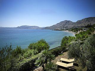 Beachfront Villa  ._