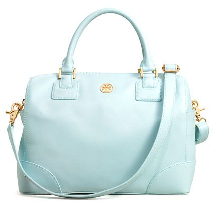 Robinson Satchel by Tory Burch .. love the color!