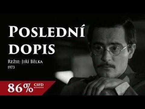 Poslední dopis - 1973 - Nejlepší český film - Jan Tříska, Josef Somr, Jo...
