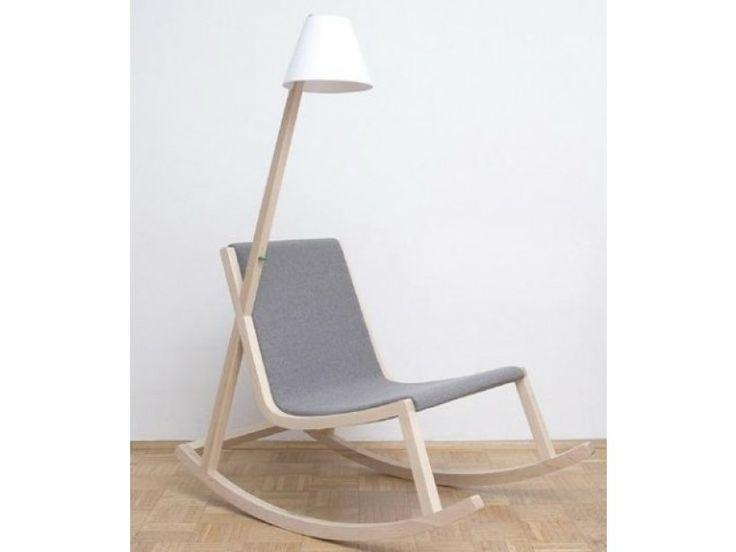 Energy harvesting rocking chair