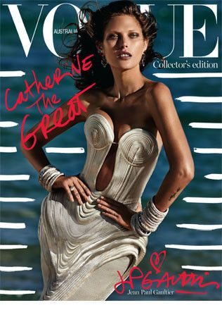 Catherine McNeil for Vogue Australia October 2014