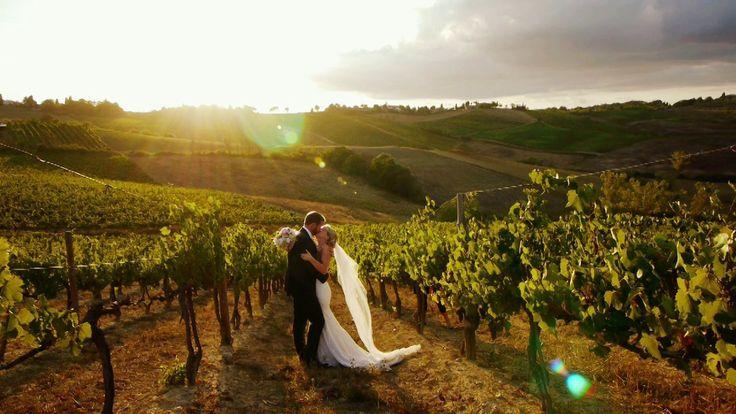 Video: un matrimonio country chic a Radda in Chianti