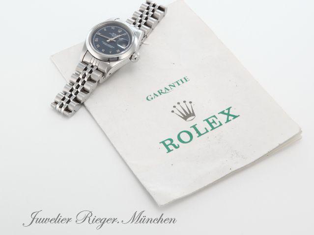 Luxusuhren ROLEX LADY DATE STAHL AUTOMATIK 26 mm