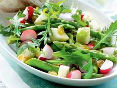 Salade met asperges en radijsjes (Libelle Lekker!)