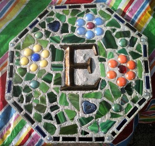 monogram-stepping-stone.jpg - going to pick up letters for each of my kids at the hardware store, and make these with them
