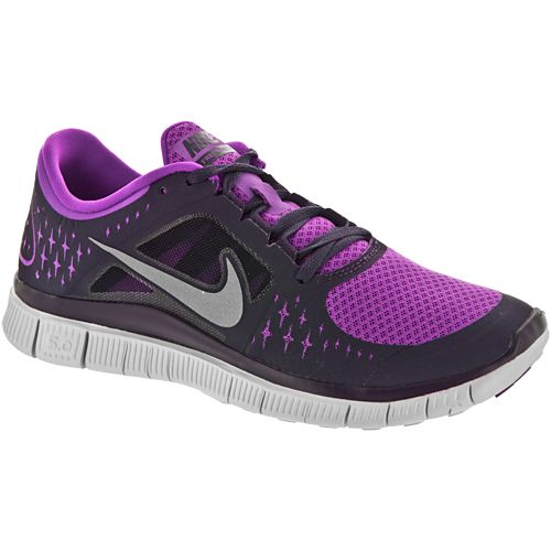 Nike Free Run+ 3: Nike Women's Running Shoes Purple