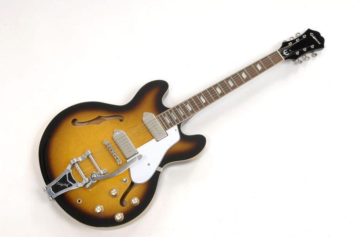 Fab-guitars.com - Epiphone Casino with Bigsby Bridge the Beatles George Harrison Semi-Hollow Electric Guitar For Sale, $2,595.00 (http://www.fab-guitars.com/epiphone-casino-with-bigsby-bridge-the-beatles-george-harrison-semi-hollow-electric-guitar-for-sale/)
