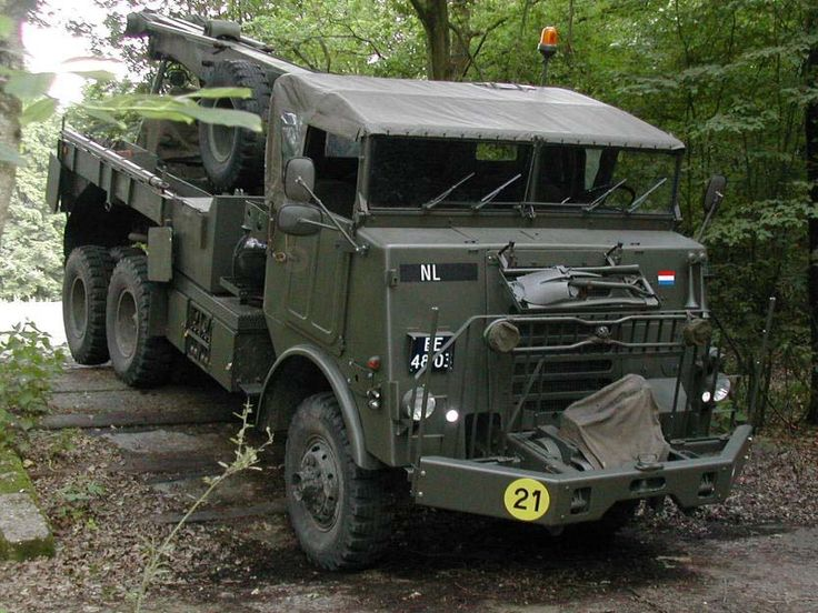 DAF YB 616 takelwagen, Royal Dutch Army