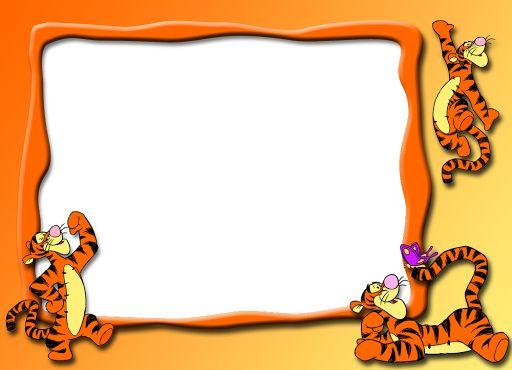 17 best marcos infantiles images on pinterest pooh bear - Marcos para fotos infantiles ...