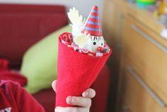 Veja aqui passo a passo como fazer um palhaço no cone super divertido